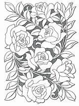 Rose Coloring Generous Printable Landscape Getcolorings Colorings sketch template