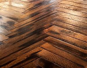 tw e956 engineered antique fumed oak parquet uv oil finish With parquet finish