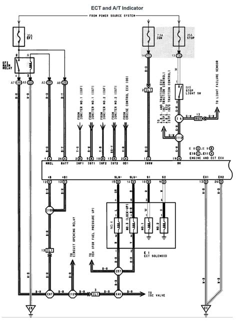 Wiring Diagram For Lexu V8 by Lexus V8 1uzfe Wiring Diagrams For Lexus Ls400 1991 Model