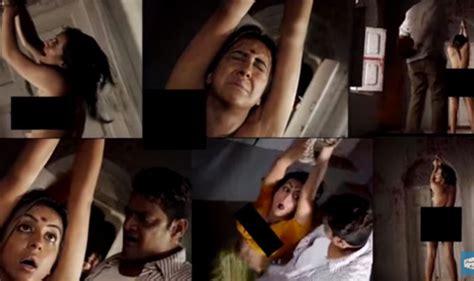 sanjjanaa nude video and photos from dandupalya 2 movie leaked online hot kannada actress naked
