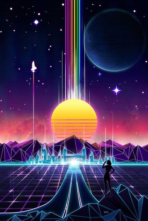 Retro Neon Wallpaper Pc by Neon In 2019 Vaporwave Retro