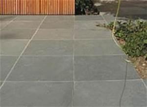 Dallage Exterieur Pour Passage Voiture : dalle dallage en pierre pour terrasse et jardin ~ Premium-room.com Idées de Décoration