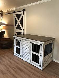 best 25 dog crate furniture ideas that you will like on With white dog crate furniture