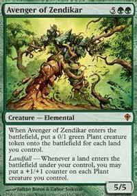 mtg landfall deck edh avenger of zendikar worldwake magic the gathering