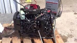 Mercury Sport Jet 175hp Engine Test   Good Compression