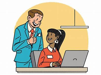 Managers Employers Employer Clipart Employees Better Manager