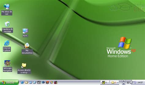 curso gratis de microsoft windows xptema  el escritorio