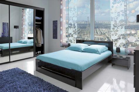 chambre a chambre à coucher moderne noir trendymobilier com