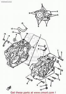 Yamaha Xt250g Dual Purpose 1980 Crankcase