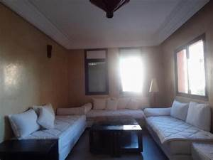 appartement a louer meuble ou vide lumineux marrakech With louer un appartement meuble ou vide