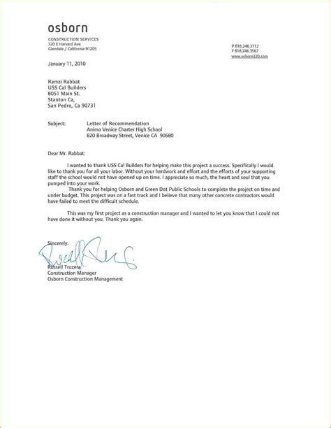 thank you letter for recommendation inspirational thank you letter for recommendation cover 47608