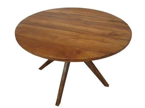 modern wood dining table modern round dining table kitchen pinterest round