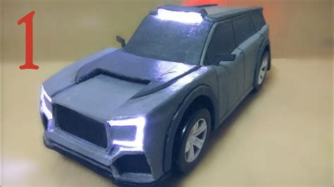 How To Build Car by How To Make Electric Car Using Cardboard And Dc Motor