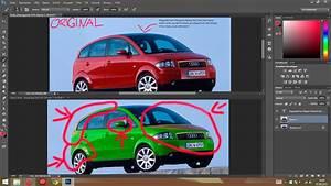 Ledersitze Färben Lassen : kann das auto im photoshop nicht richtig f rben die licht ~ Kayakingforconservation.com Haus und Dekorationen