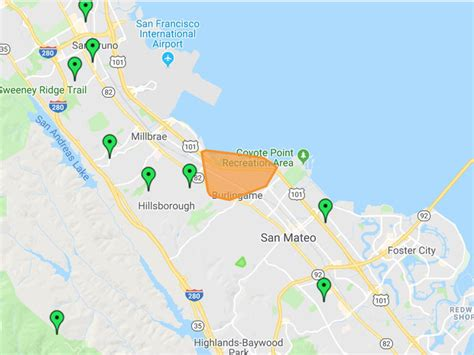 power outages continue  burlingame hillsborough areas