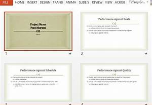 Project post mortem powerpoint template for Post mortem template powerpoint