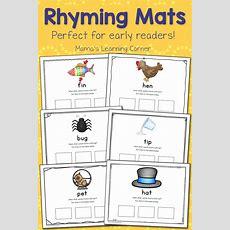 Printable Rhyming Mats  Mamas Learning Corner