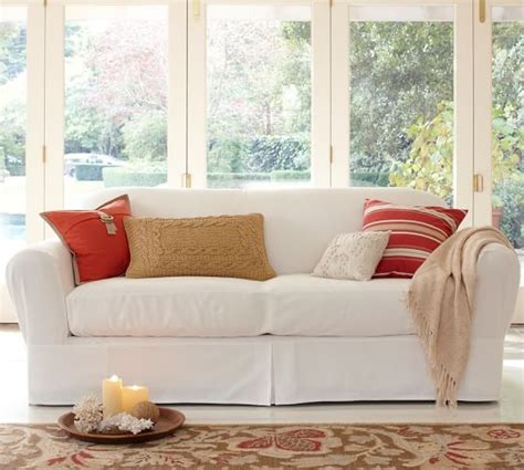 slipcovers that fit pottery barn sofas twill separate seat tailored loose fit slipcover pottery
