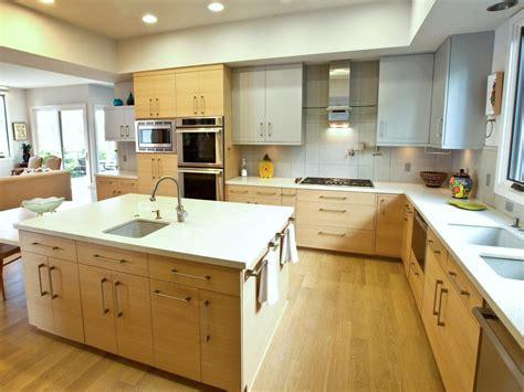 gourmet kitchen islands modern gourmet kitchen with prep sink and large island hgtv