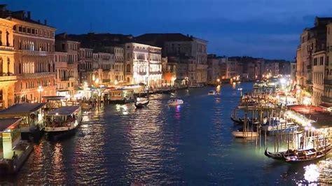 The Beautiful Venice At Night In 4 Minutes Hd Youtube