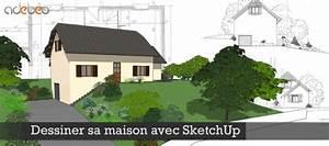 tuto gratuit dessiner sa maison avec sketchup avec With dessiner sa maison gratuit