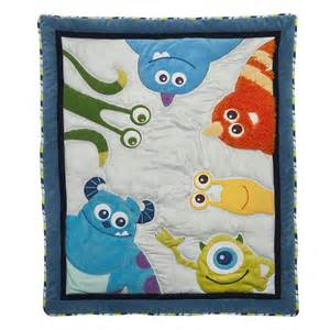 monsters inc baby bedding