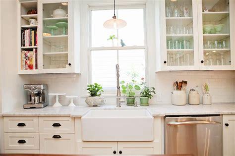 porcelain kitchen sink with backsplash appealing white kitchen subway backsplash as well as white