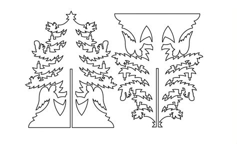 Christmas Tree 2 3d Dxf