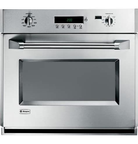 monogram zetphss   single electric wall oven mountain land design