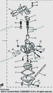 Yamaha Pw50 Carburetor Diagram    Schematic