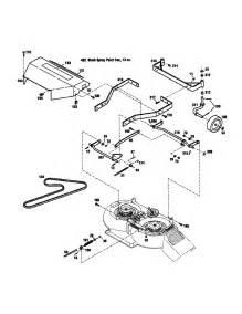 craftsman mower deck diagram images