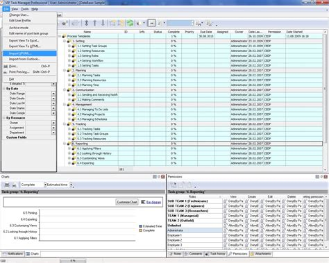 managing projects template project management outline software using a template based approach to planning and managing