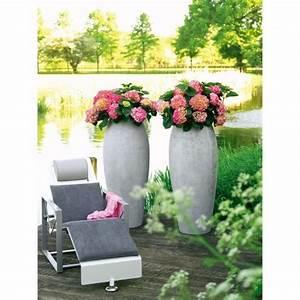 Blumentöpfe Groß Draußen : blumenk bel aus polystone in grau ~ Eleganceandgraceweddings.com Haus und Dekorationen