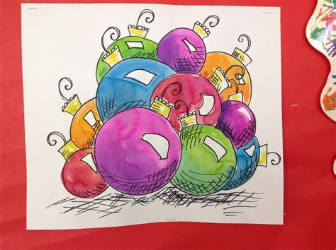 christmas art projects for middle schoolers color it like you it shiny and bright