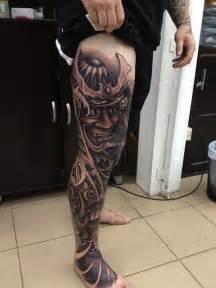 unique samurai tattoo