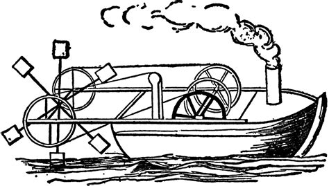 Steamboat Clipart by Steamboat Of 1736 Clipart Etc