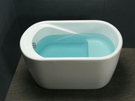 canape de jardin en bois baignoire sabot piccola 1 place de 181l acrylique renforcé