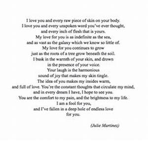 Deep Love Quote... Endless Feelings Quotes