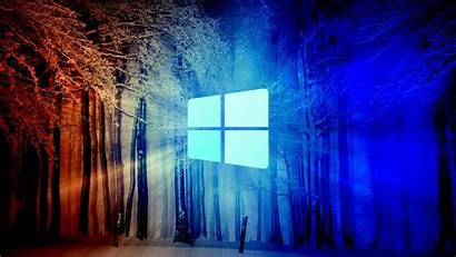 Windows Technology Snow Forest Wallpapers 1080 1920