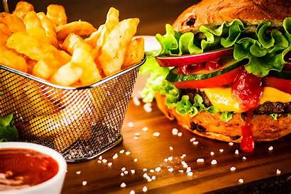 Fries Burger French Still Background Wallpapers