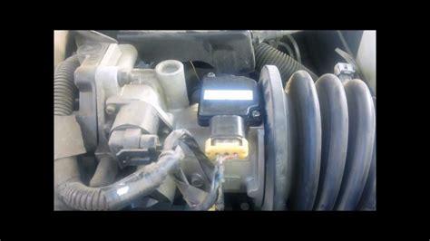 Where is Mass Airflow Sensor (MAF Sensor), on a 1997 Buick ...