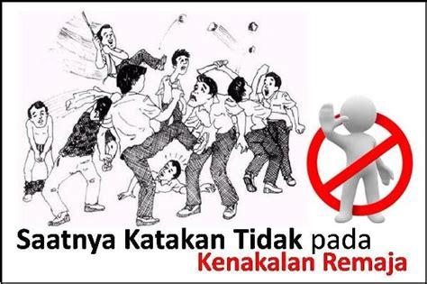Contoh Gambar Poster Kenakalan Remaja Zentoh