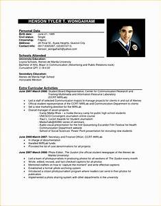 9 Sample Formal Curriculum Vitae Free Samples Examples