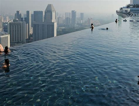 marina bay sands pool hotel resort pools natare