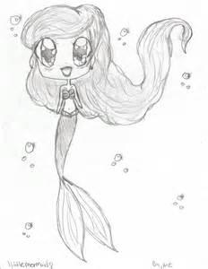 Anime Chibi Mermaid Drawings