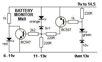 Battery Monitor Mkii This Circuit Uses