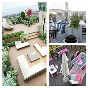 jardin et terrasse en ville 75 idees pour jardin sur le toit With amenagement terrasse de toit