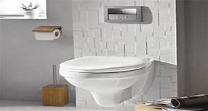 deco toilettes cuvette design blanche murs habillage wenge With quelle couleur dans les toilettes 11 comment recycler le rouleau de papier toilette idees