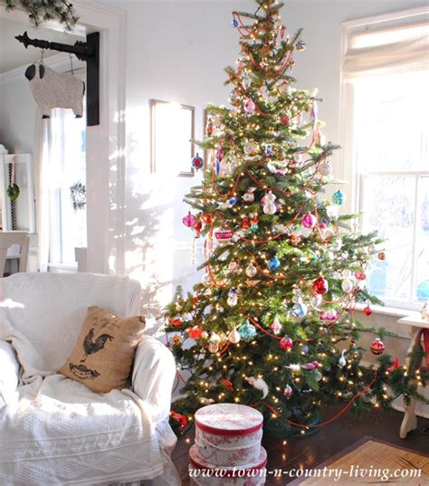 country living christmas it s a farmhouse christmas town country living