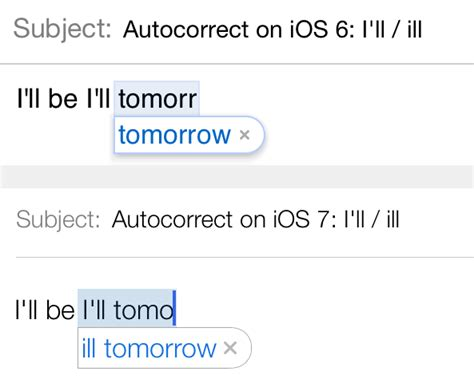 how to put autocorrect on iphone how ios 7 makes auto correct better